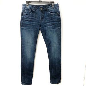 Vigoss The Chelsea Skinny Dark Wash Jeans